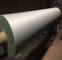 Industrial Roll Fabrication Matte Finished Roll